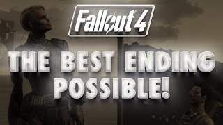 "getlinkyoutube.com-Fallout 4 Best ""Good Ending"" Possible: Peace between Railroad, Brotherhood and Minutemen"