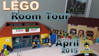 getlinkyoutube.com-Lego Room Tour - Brick Adjuster - April 2015