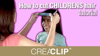 getlinkyoutube.com-How to cut CHILDRENS hair  tutorial-  Kids Bangs, layers, and one length cuts