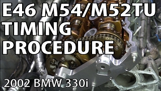 getlinkyoutube.com-BMW E46 Install Timing Components & Reset Timing #m54rebuild