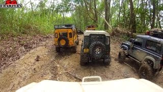 getlinkyoutube.com-RC Offroad Adventures at Tampines Quarry - mudding at Devil's Backbone GoPro Hero 2 On Board Cam