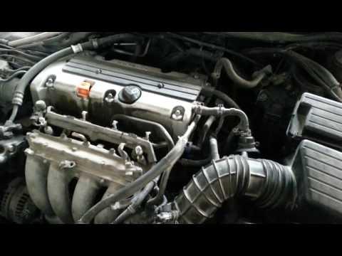 Расположение в Acura CL датчика температуры