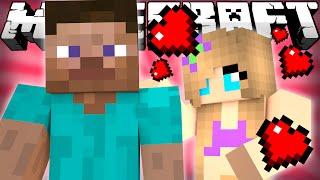 getlinkyoutube.com-Minecraft - STEVE GETS A GIRLFRIEND?
