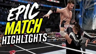 getlinkyoutube.com-Wrestlemania 32 Sami Zayn vs. Kevin Owens | Epic Match Highlights!