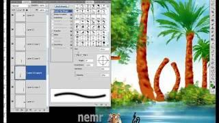 getlinkyoutube.com-كلمة سلمان منظر طبيعى رسم بالفوتوشوب