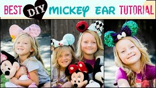 getlinkyoutube.com-BEST Mickey Ear Tutorial