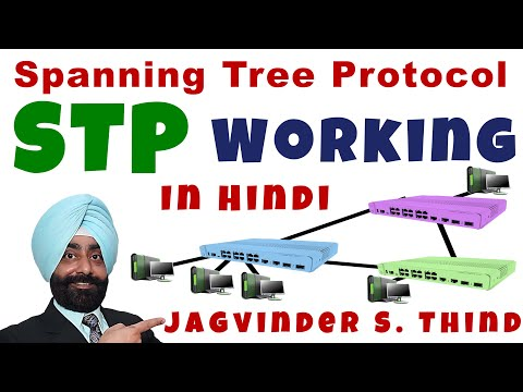 Spanning Tree Protocol Part 2 - Working in Hindi
