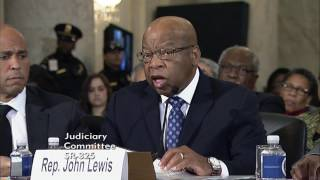 getlinkyoutube.com-Rep. John Lewis Testifies on the Nomination of Senator Sessions to be Attorney General