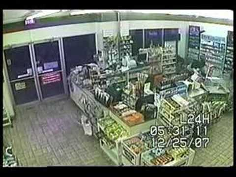 Armed Clerk Foils Christmas Robbery