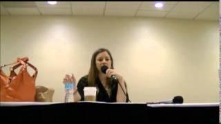 getlinkyoutube.com-Brittney Karbowski Panel Friday@ Khaotic Kon 2014
