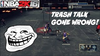 "NBA 2K16| WHEN TRASH TALKING GOES WRONG!! ""Im going to break your ankles"" - Prettyboyfredo"