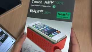 getlinkyoutube.com-번외7편. 설정 연결 필요없는 스마트폰 스피커. Touch AMP Slim을 소개합니다.