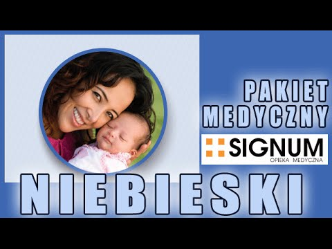 Pakiet Medyczny OM SIGNUM Abonament Niebieski Ginekolog Prowadzenie Ciąży Szczepienie pryeciw Grypę