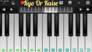 Dekha Hai Pehli Baar Sajan Ki Akhon Me Pyar (Saajan) | Piano Notes | Piano | By Dev