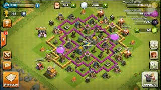 getlinkyoutube.com-Clash of clans ita | Attacco solo Barbari e Arcieri - Attack with Barbarians and Archers