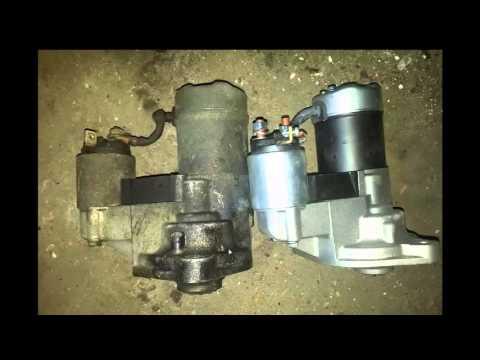 Changement demarreur corsa B moteur Isuzu 1 7 D corsa B 1999