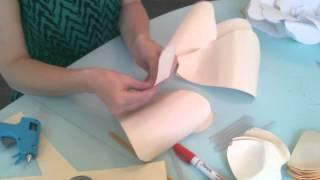 getlinkyoutube.com-How to make giant paper flowers