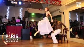 getlinkyoutube.com-Tony Pirata & Sophie Fox - SHOWTIME @ PARIS KIZOMBA FESTIVAL 2014