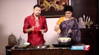 getlinkyoutube.com-Sutralam Suvaikalam - Khandvi, a Gujarati recipe (1/3) | News7 Tamil