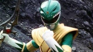 getlinkyoutube.com-Power Rangers vs Evil Green Ranger (Mighty Morphin Power Rangers)