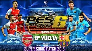 FC ARSENAL VS FC BARCELONA | UEFA CHAMPIONS LEAGUE 2016 | 8VOS  DE FINAL | VUELTA |