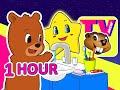 Kids 1 Hour TV Show | Busy Beavers BBTV S1 E3 & E4 | Teach Kindergarten Learning Video