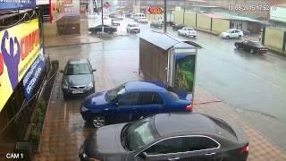 getlinkyoutube.com-Уличная HDCVI камера DH-HAC-HFW1200RP-VF, 2,7-12 mm., 2 Mpx, Цифромания, Дождь Авто Люди