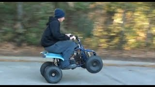 getlinkyoutube.com-HD lifan mini quad 140cc fly bys donuts ect a blast  kids quad fast crf panther 70cc converted