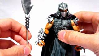 getlinkyoutube.com-Custom SHREDDER (TMNT) Marvel Legends Action Figure