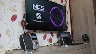 getlinkyoutube.com-Logitech Z-5500 speakers connect to TV & sound test