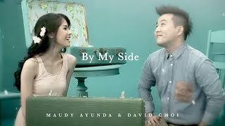 getlinkyoutube.com-Maudy Ayunda Duet With David Choi - By My Side | Official Video Clip