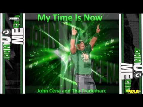 WWE John Cena 2009 - 2013 Theme Song ''My Time Is Now'' by T