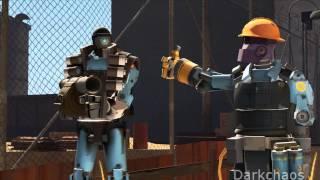 getlinkyoutube.com-Robots play 2fort