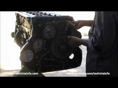 How to install an engine oil pump.?