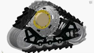 getlinkyoutube.com-Soucy Track - Front Tracks installation animation / Animation installation des chenilles avant