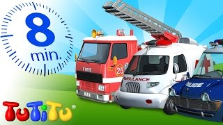 getlinkyoutube.com-TuTiTu Specials | Rescue Forces Toys for Children | Police, Ambulance and Fire Truck!