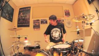 getlinkyoutube.com-Chris Dimas - Castle Of Glass - Linkin Park - Drum Cover