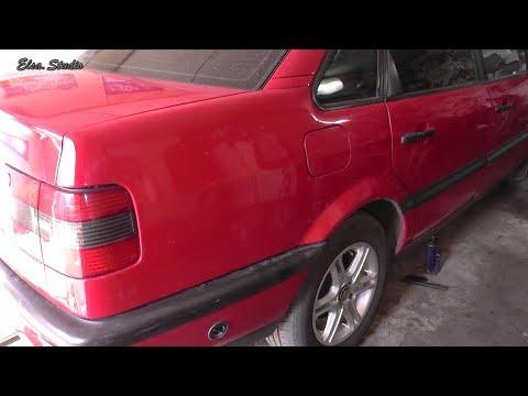 Замена сайлентблоков задней балки VW Passat B4