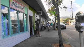 getlinkyoutube.com-ぶらり旅ハワイ: カイルアの町 をぶら~り散歩【HD】 (Kailua Town ) ハワイ