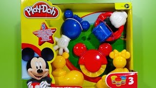getlinkyoutube.com-Play-Doh Mickey Mouse Mouskatools Mickey-Herramientas - Juguetes de Mickey Mouse