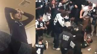 Cowboys Fans FIGHT Packers Fan, Break TVs and Cry After Playoff Loss to Green Bay