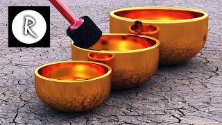 getlinkyoutube.com-9 HOURS Tibetan Healing Sounds - Singing Bowls - Natural sounds Gold for Meditation & Relaxation