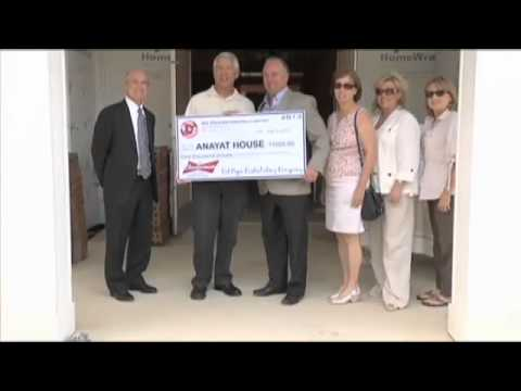 Anayat House receives donation, community support