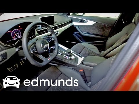 2018 Audi S4: This Steering Wheel Is Made for Your Hands | Edmunds First Impression