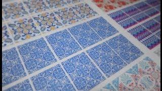 getlinkyoutube.com-Como fazer adesivos de unhas impressos