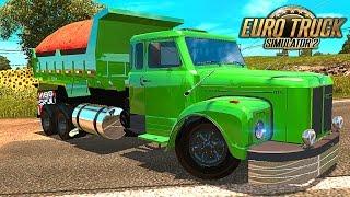 Scania 111s Caçamba - Euro Truck 2