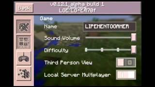 getlinkyoutube.com-Minecraft pe 0.12.1 build 1 sem erro de analice!!!