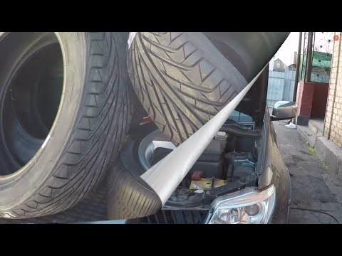 Расположение наконечника рулевой тяги в Митсубиси ASX