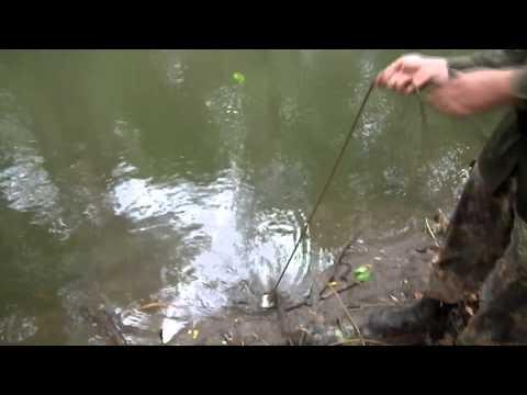 Работа поисковым магнитом на реке Миус