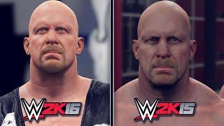getlinkyoutube.com-WWE 2K16 vs WWE 2K15 - Screenshot Comparison! (WWE 2K16 Gameplay)